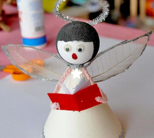 How To Make A Cute Singing Angel Christmas Decoration