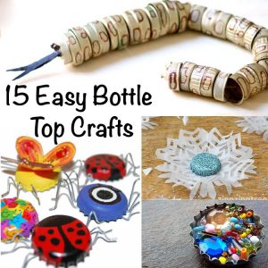 Bottle Top Crafts