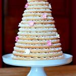 Beautiful Wheat free cake kransekake