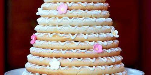 Kransekake Makes The Most Gorgeous Wheat Free Birthday Cake
