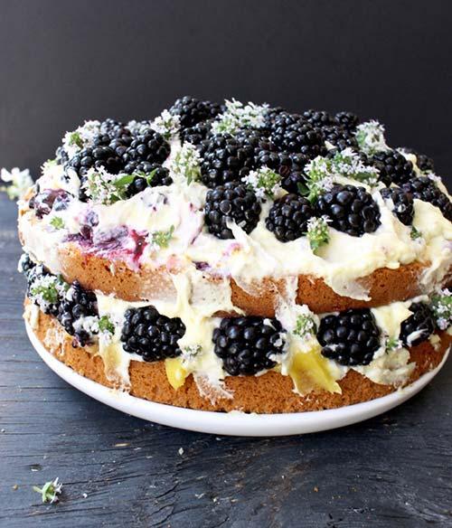 Italian Olive Lemon cake