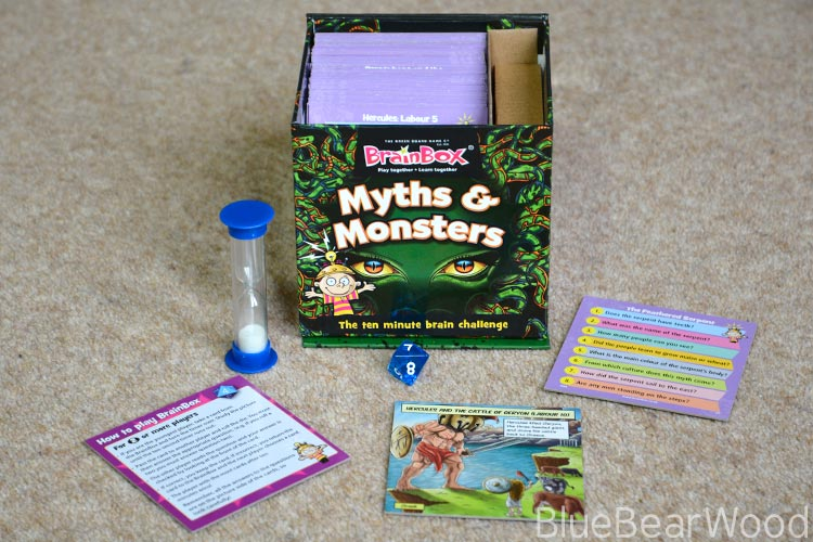 BrainBox Myths & Monsters kids toy