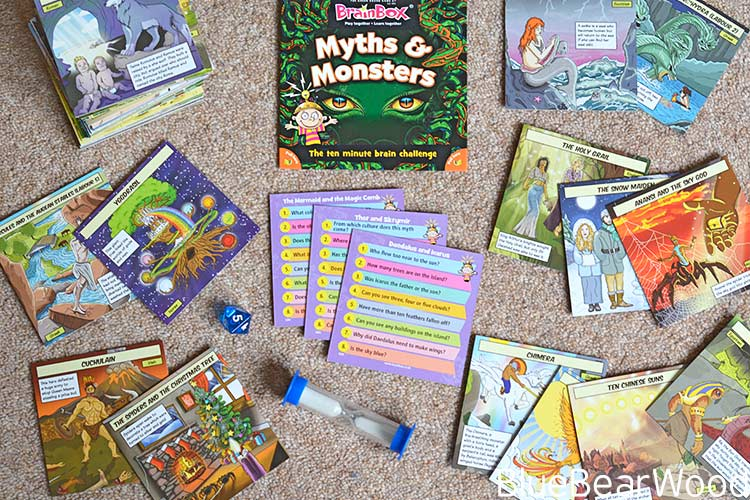 Train Your Brain With BrainBox Myths & Monsters – Review