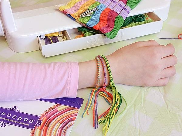 Make Adorable Loopdedoo Bracelets In Just A Few Minutes