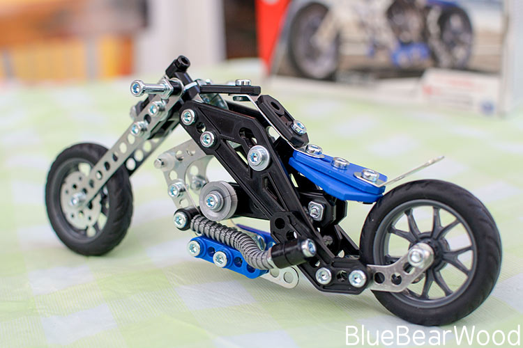 Meccano Motorcycles Moto 5in1 Review : Small Is Beautiful