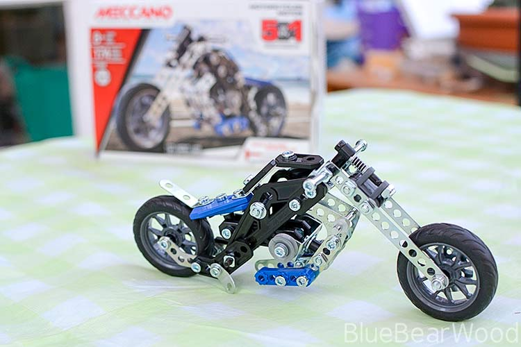 Meccano Motorcycles Review