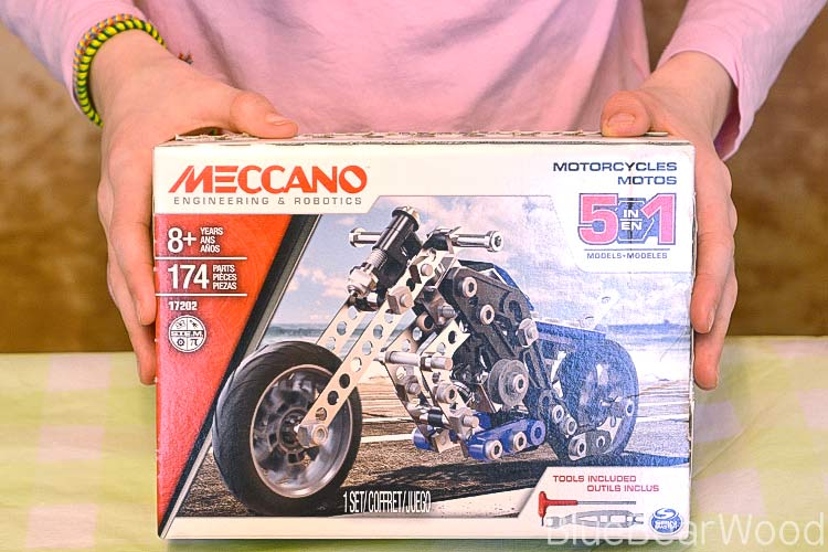 Meccano Motorbike Review