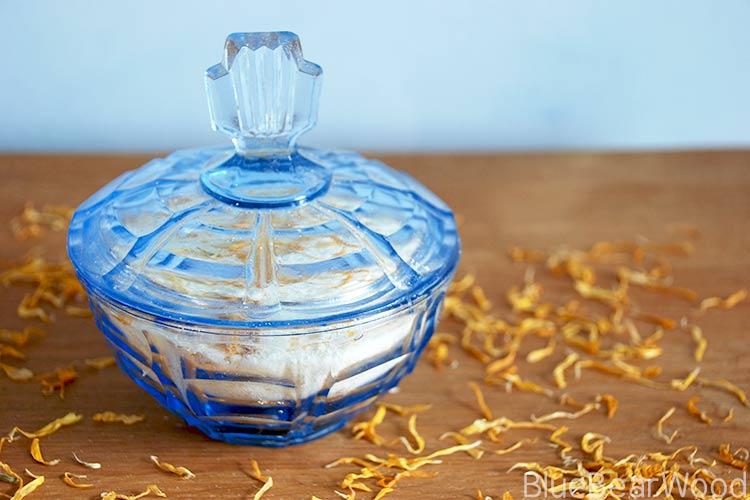 Homemade Calendula Bath salts