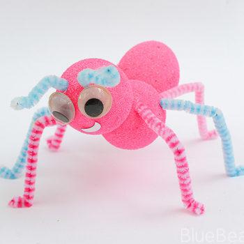 Fluorescent Pink Ant Craft