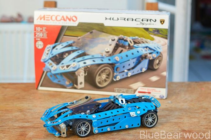 Meccano Huracan Spyder Construction Kit Review