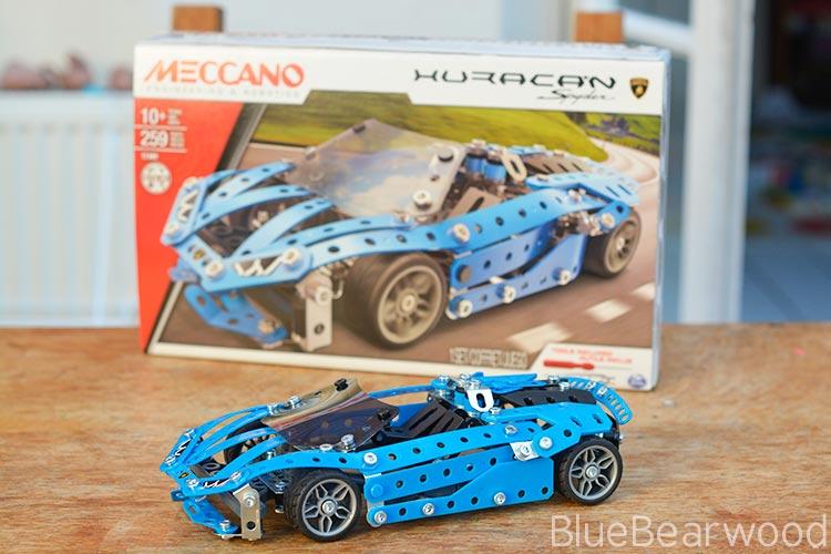 Meccano Huracan Spyder Kit