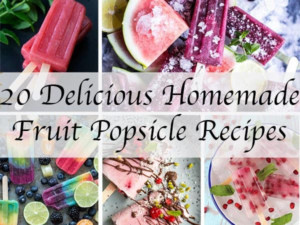 20 delicious homemade fruit popsicles