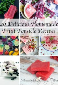 20 delicious homemade fruit popsicle