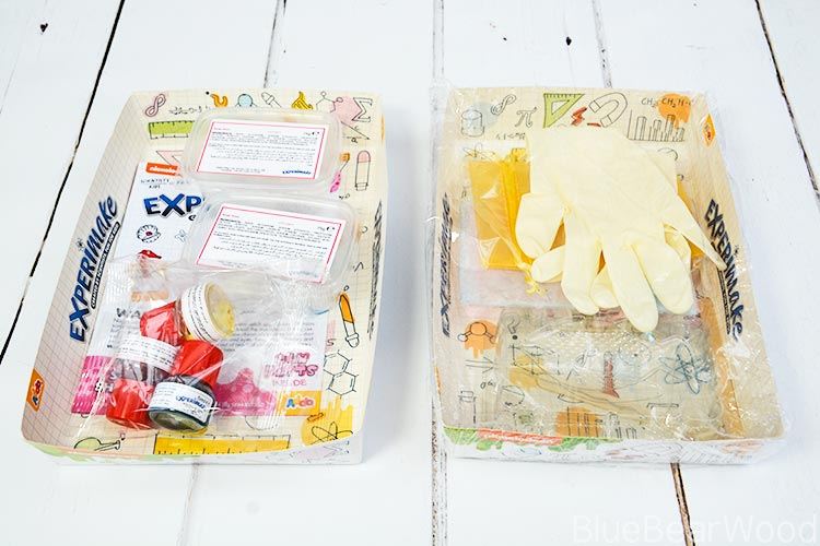 Experimake Superb Sea Shaped Soap Kit Contents