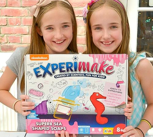 Science Fun With The Experimake Superb Sea Shaped Soap Kit By Nickelodeon With Giveaway
