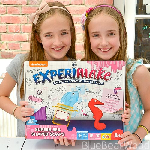 Experimate Superb Sea Shaped Soap Kit by Nickelodeon review