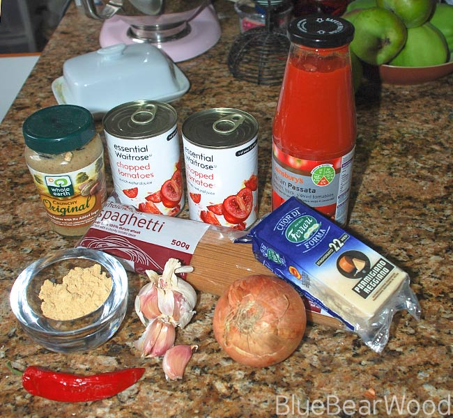Ingredients To Make Peanut Butter Tomato Sauce