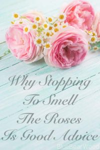 Stop ans smell the roses