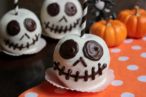 Jack Halloween Candy Apples