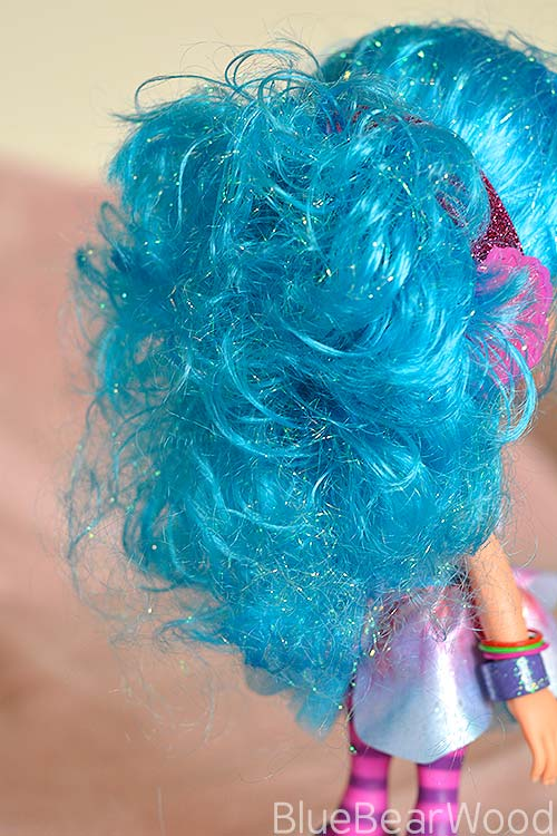 Luna Petunia Blue Hair