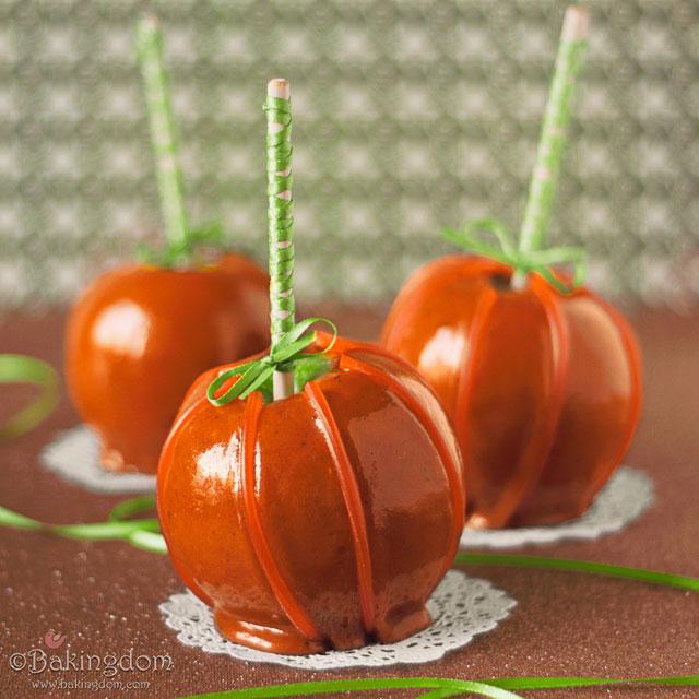 Seasonal Autumn Candy Apples