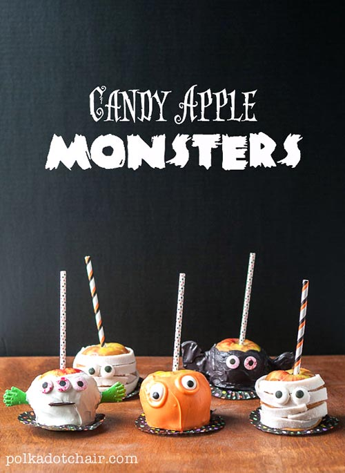 Candy Aplle Monsters