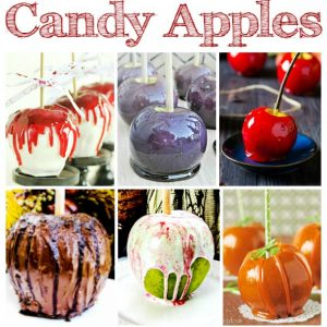 Seasonal Candy Apples