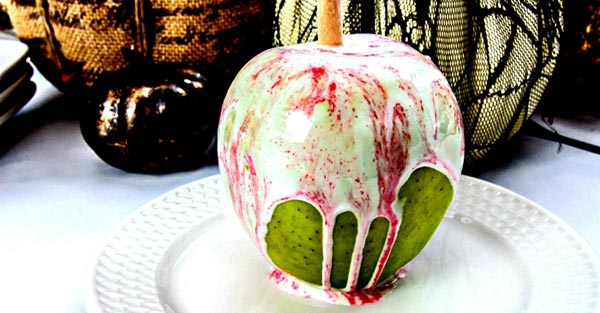 White Chocolate Candy Apples