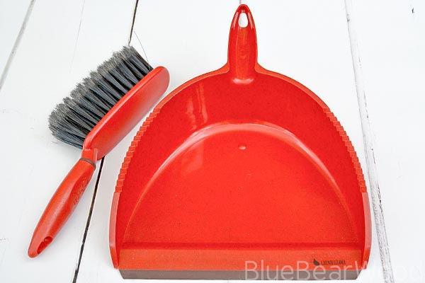 Greener Cleaner Dustpan and Brush