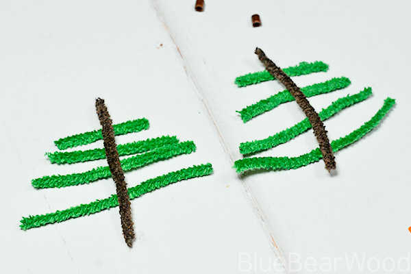 Cut Pipe Cleaners