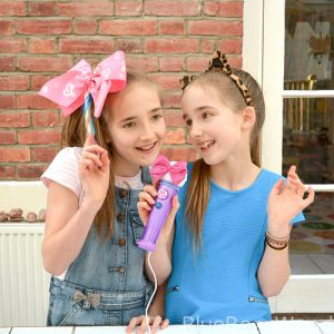 JoJo Siwa Light Up Microphone and hair bow
