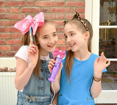 JoJo Siwa Light Up Microphone and hair bow