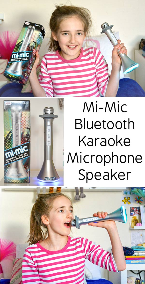 Mi-Mic Bluetooth Karaoke Microphone Speaker