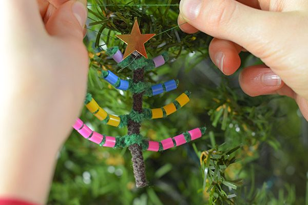 How To Make A Perler Bead Christmas Tree Decoration