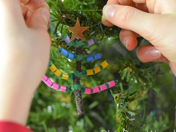 How To Make A Perler Bead Christmas Tree Decoration