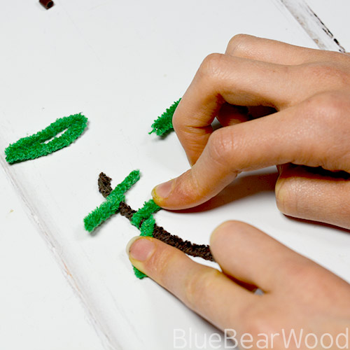Wrapping Pipe Cleaners