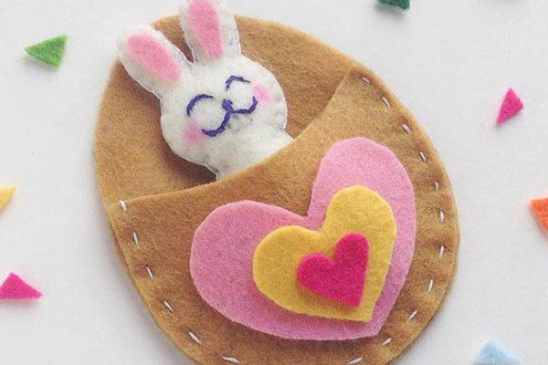 This Super Cute Felt Bunny Craft Is A Perfect Pocket Pal