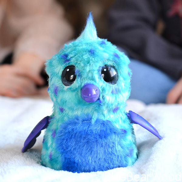 Hatchimal Fabula Forest Puffatoo