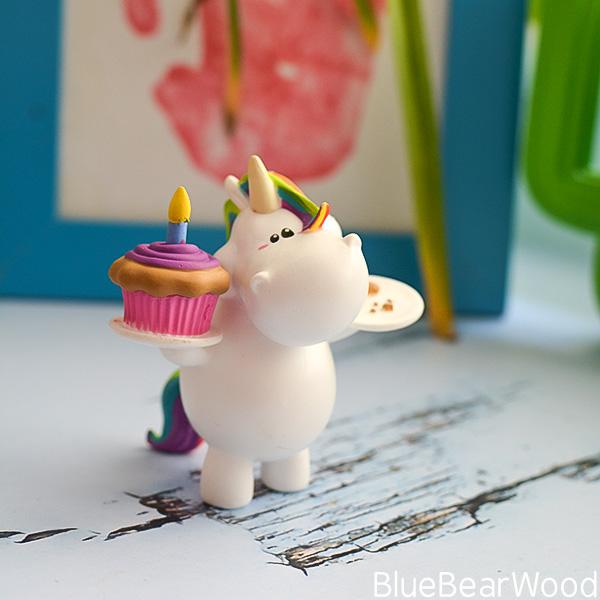 Bullyland Chubby Unicorn Birthday Character