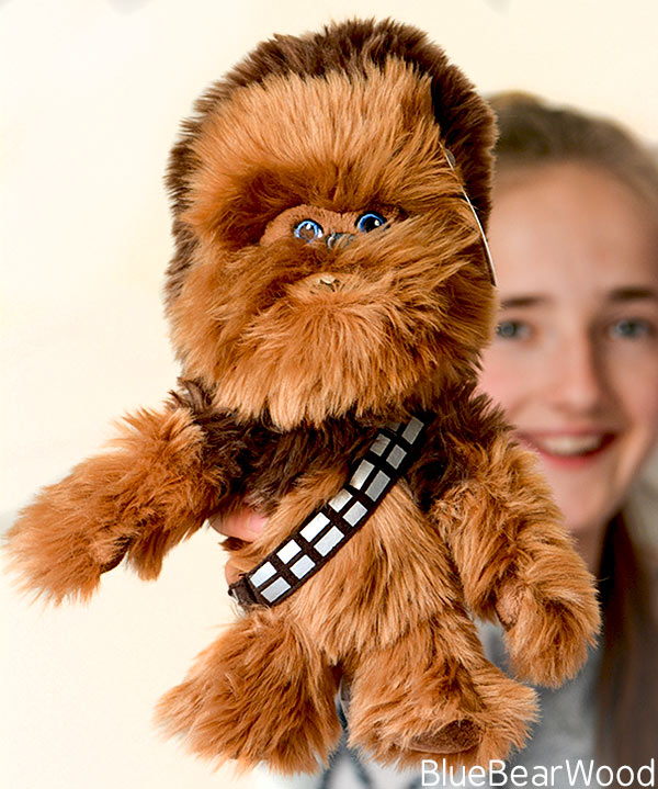 Official Disney Star Wars Soft Toy Solo Chewbacca Plushie