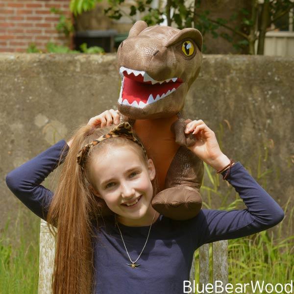 Jurassic World Fallen Kingdom Posh Paws T-Rex Dinosaur Toy