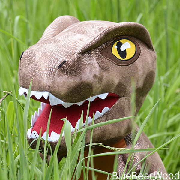 Jurrassic World Posh Paws Dinosaur Soft Toy