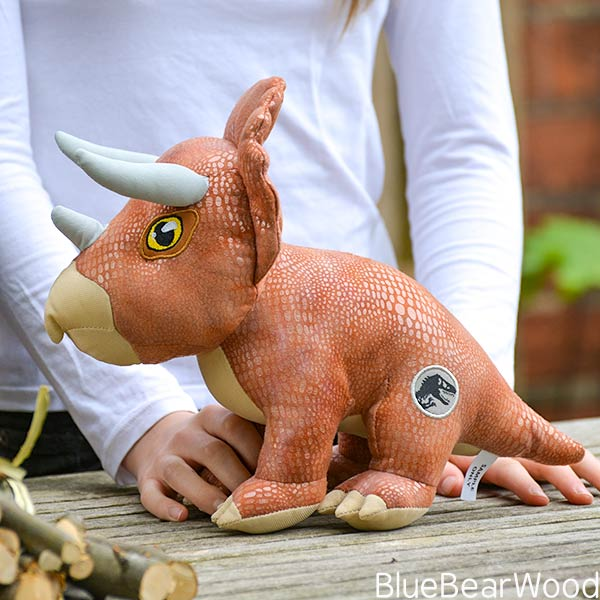 Jurassic World Fallen Kingdom Posh Paws Triceratops Soft Toy