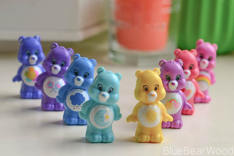 Care Bear Mini Figurures