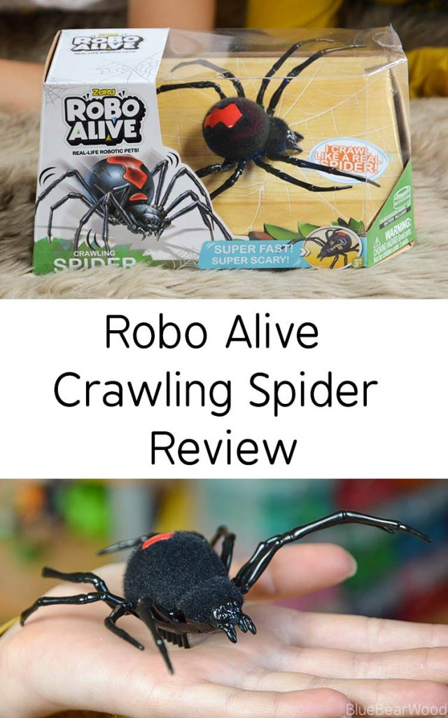 Robo Alive Crawling Spider Review