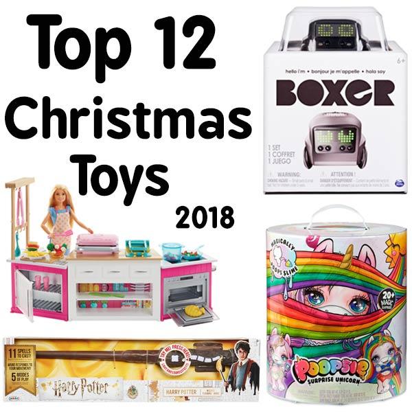 Top 12 Christmas Toys