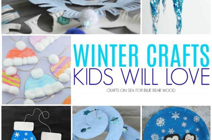 Super Cute And Fun Winter Crafts for Kids