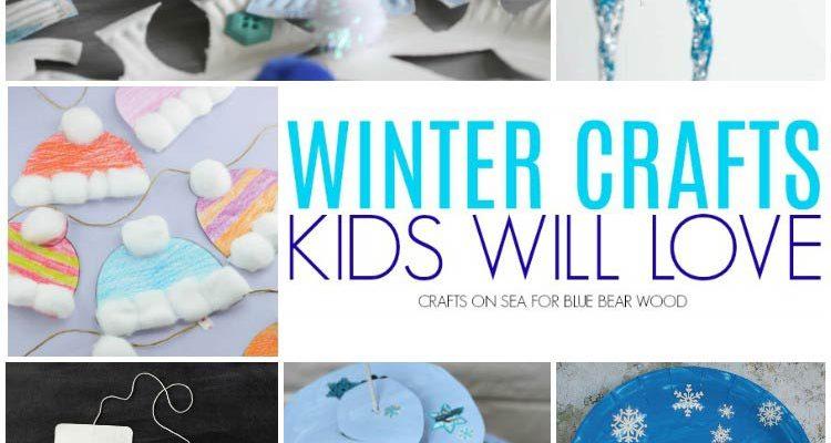 Super Cute And Fun Winter Crafts for Kids