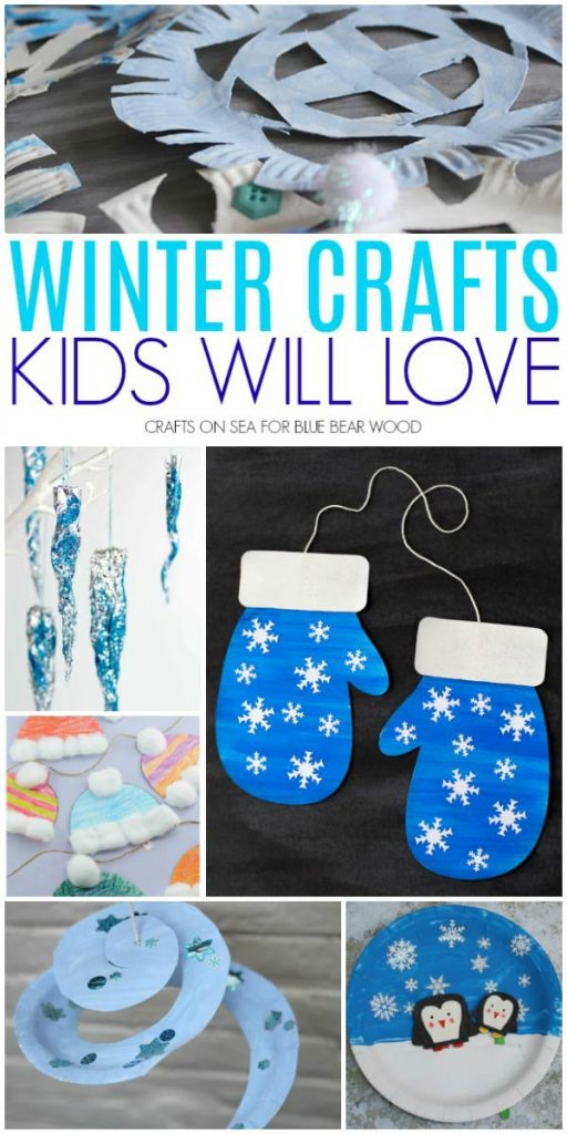 Winter crafts kids will love