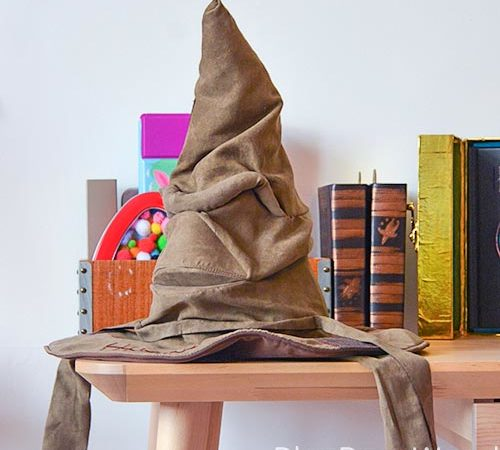 The Real Talking Harry Potter Sorting Hat Has Landed And Its Fabulous